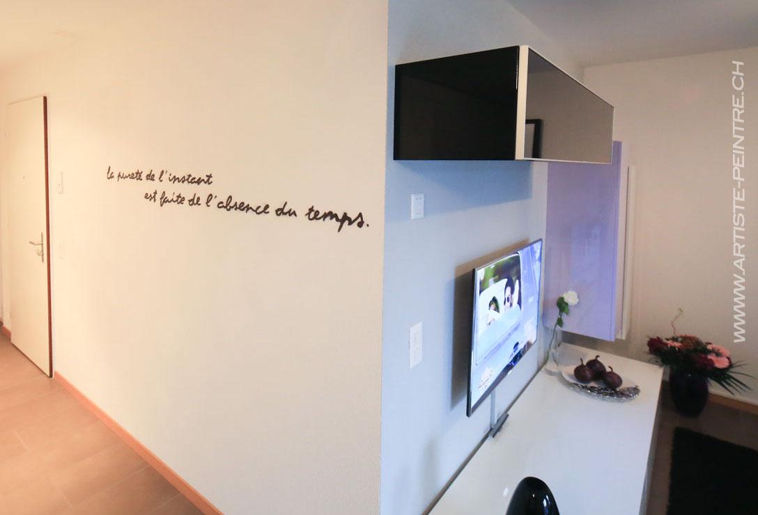 peinture pour ecrire sur les murs. Black Bedroom Furniture Sets. Home Design Ideas