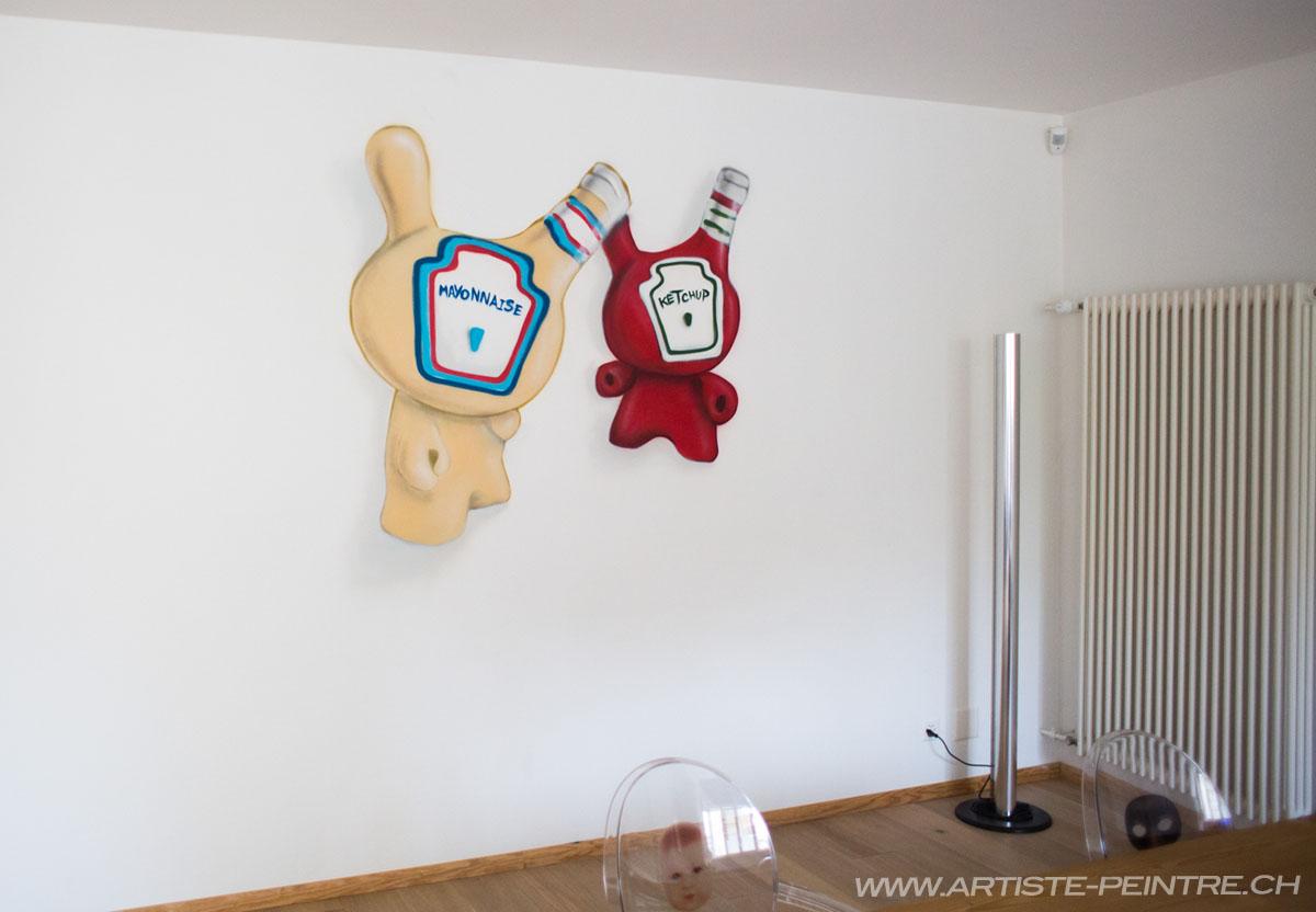 tableau décoration suisse